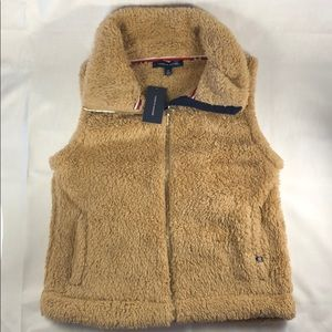 NWT Tommy Hilfiger Faux Fur Teddy Bear Vest